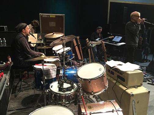 Fab Faux rehearsal